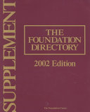 The Foundation Directory 2002