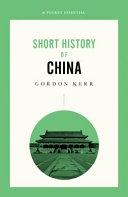 Short History of China