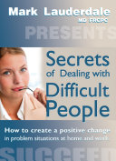 Secrets of Dealing with Difficult People [Pdf/ePub] eBook