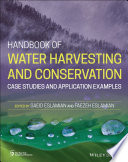 Handbook of Water Harvesting and Conservation