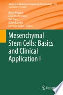 Mesenchymal Stem Cells   Basics and Clinical Application I