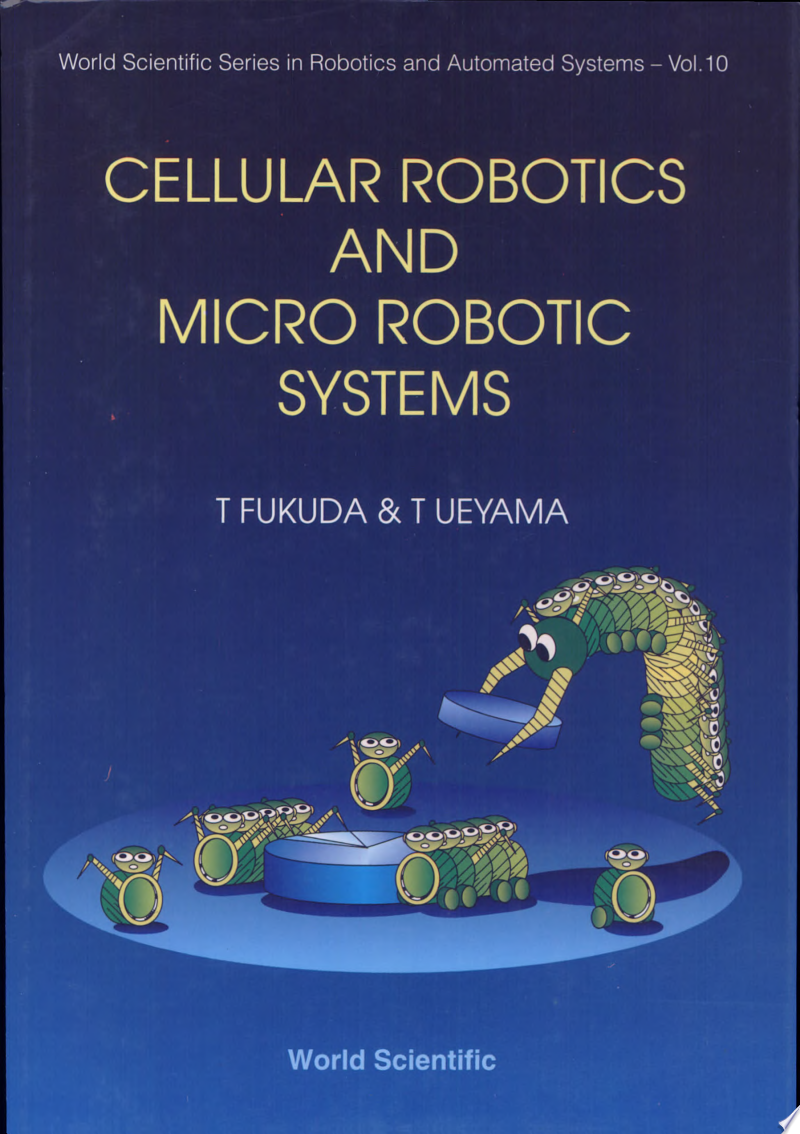 Cellular Robotics and Micro Robotic Systems banner backdrop
