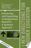 Enhancing And Expanding Undergraduate Research