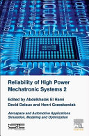Reliability of High Power Mechatronic Systems - Aerospace and Automotive Applications