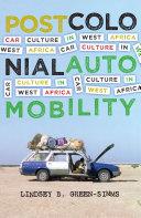 Postcolonial Automobility