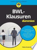 Öffnen Sie das Medium BWL-Klausuren für Dummies von Amely, Tobias [Verfasser] [Herausgeber] im Bibliothekskatalog