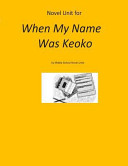 Pdf Novel Unit for When My Name Was Keoko