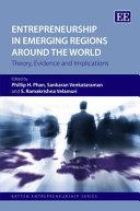 Entrepreneurship In Emerging Regions Around The World Book PDF