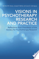 Visions in Psychotherapy Research and Practice Book