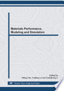 Materials Performance  Modeling and Simulation