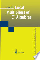 Local Multipliers Of C Algebras