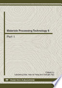 Materials Processing Technology II