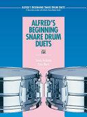 Alfred's Beginning Snare Drum Duets