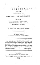 An Inquiry Into the Principles of Harmony in Language ebook