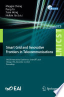 Smart Grid and Innovative Frontiers in Telecommunications Book