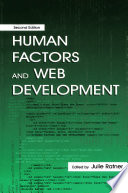 Human Factors And Web Development PDF