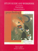 Study Guide And Workbook To Accompany Zimbardo And Weber S Psychology Second Edition Book PDF