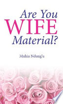 Are You Wife Material  Book