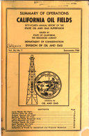 Summary of Operations, California Oil Fields