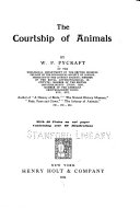 The Courtship of Animals Book PDF
