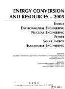 Energy Conversion and Resources-- ...