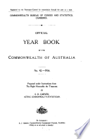 Official Year Book Of The Commonwealth Of Australia No 42 1956