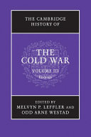 The Cambridge History of the Cold War: Volume 3, Endings