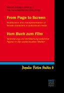From Page to Screen / Vom Buch zum Film Pdf/ePub eBook