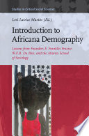 Introduction to Africana Demography