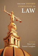The New Oxford Companion to Law