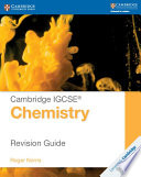 Books - Cambridge Igcse� Chemistry Revision Guide | ISBN 9781107697997