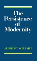 The Persistence of Modernity Pdf/ePub eBook
