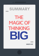 Summary The Magic Of Thinking Big PDF