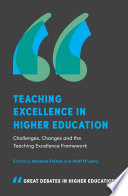 Teaching Excellence in Higher Education