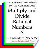 CCSS 7.NS.A.2c Multiply and Divide Rational Numbers 3