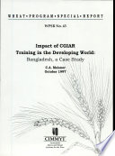 Impact of CGIAR training in the developing world: Bangladesh, a case study