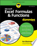 List of Dummies Excel Formulas E-book