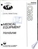 Medical Equipment  Honduras Book