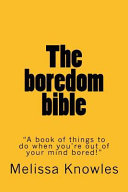 The Boredom Bible Book PDF