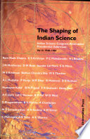 The Shaping of Indian Science: 1948-1981