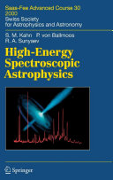 High Energy Spectroscopic Astrophysics