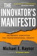 Pdf The Innovator's Manifesto Telecharger