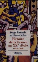 HISTOIRE DE LA FRANCE AU XXEME SIECLE.