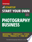 Start Your Own Photography Business Book