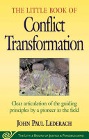 Pdf Little Book of Conflict Transformation Telecharger