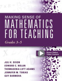 Making Sense of Mathematics for Teaching, Grades 3-5 [Pdf/ePub] eBook