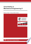 Uncertainty in Mechanical Engineering II