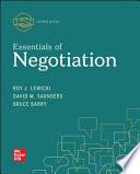 Loose-Leaf for Essentials of Negotiation