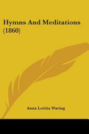 Hymns and Meditations  1860