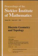 Discrete Geometry and Topology